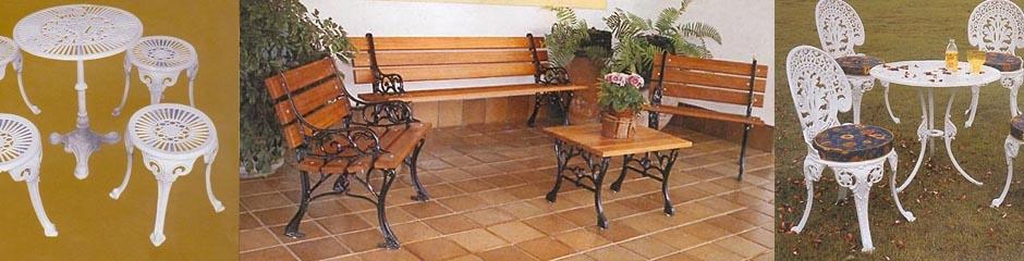 mesa jardim curitiba:Móveis Ferro Fundido, Alumínio